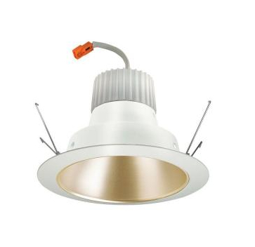 LED Cone Downlight Retrofit Trim Module with 600 Lumen 3000K